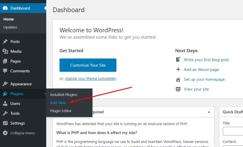 Install Really simple SSL di WordPress
